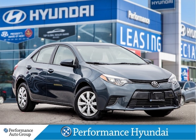 2015 Toyota Corolla LE | LOW KM | HEATED SEATS Sedan