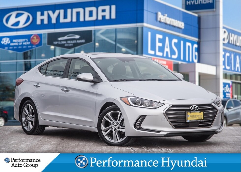 2017 Hyundai Elantra Limited | LOCAL VEHICLE | ACCIDENT FREE Sedan