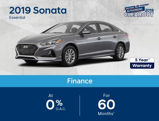 2019 Sonata Special Offer