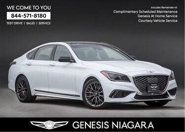 2018 Genesis G80 3.3T SPORT|NAVI|AWD|LEATHER|REARVIEW CAM Sedan