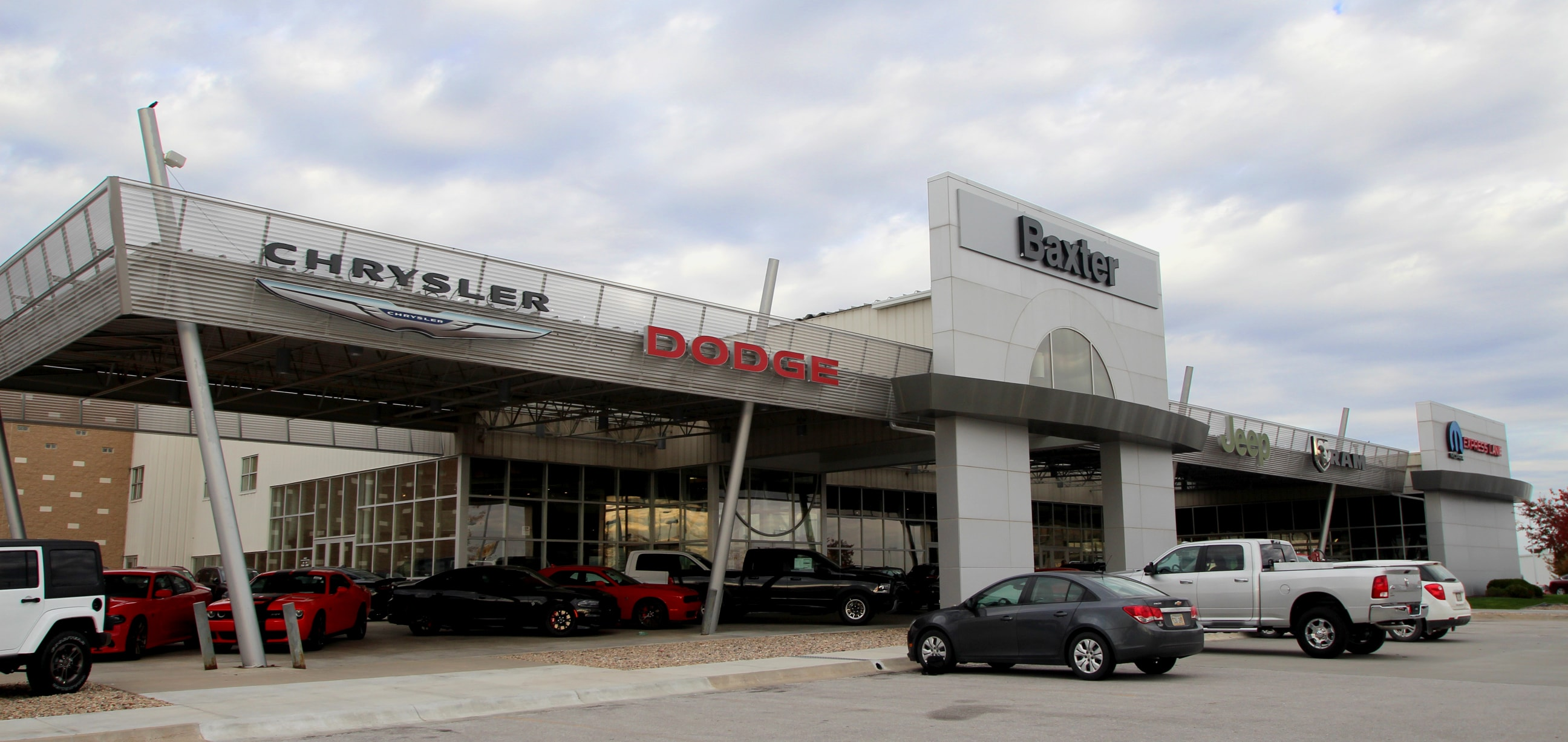 About us baxter chrysler dodge jeep ram lincoln for Department of motor vehicles lincoln nebraska
