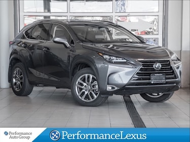 2017 LEXUS NX 200t Luxury Pkg. DEMO. AWD. NAVI. ROOF SUV