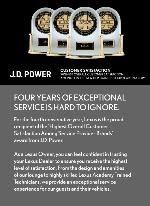 J.D. Power Customer  Satisfaction
