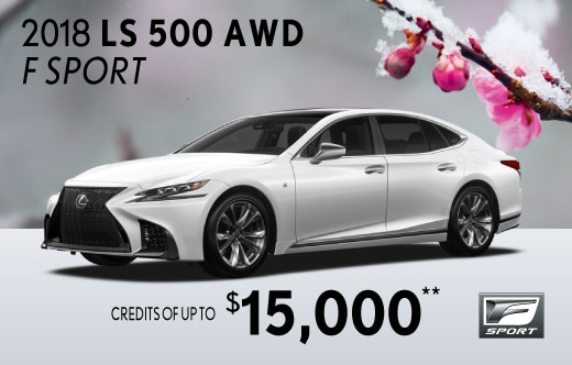 2018 LS 500 AWD Special Offer