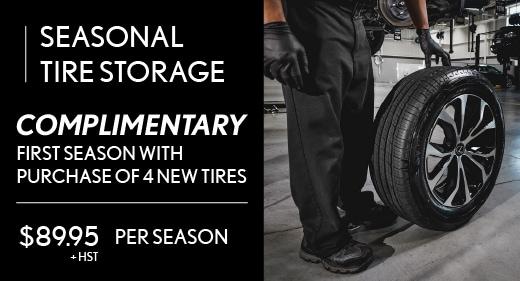Seasonal Tire Change Special Offer