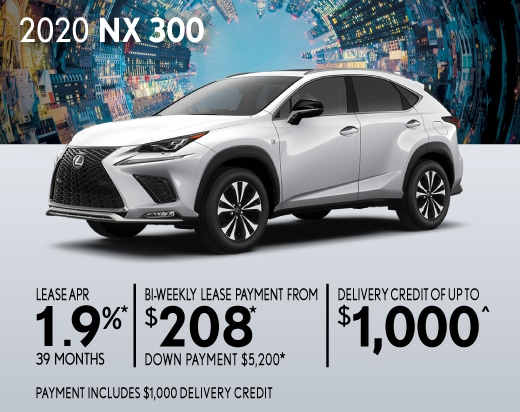 2020 NX 300 Special Offer
