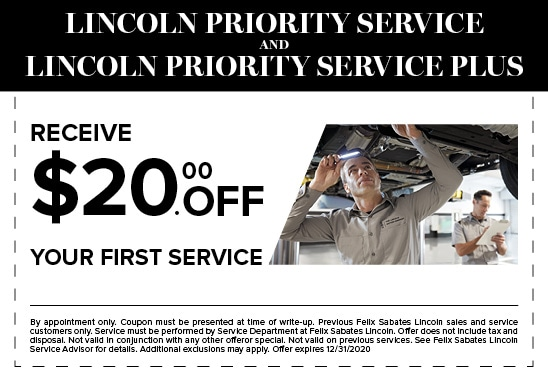$20 Off Your Frist Service