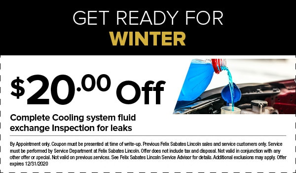 Get Ready For Winter Offer