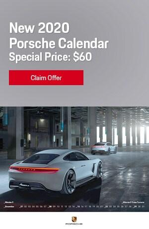 New 2020 Porsche Calendar