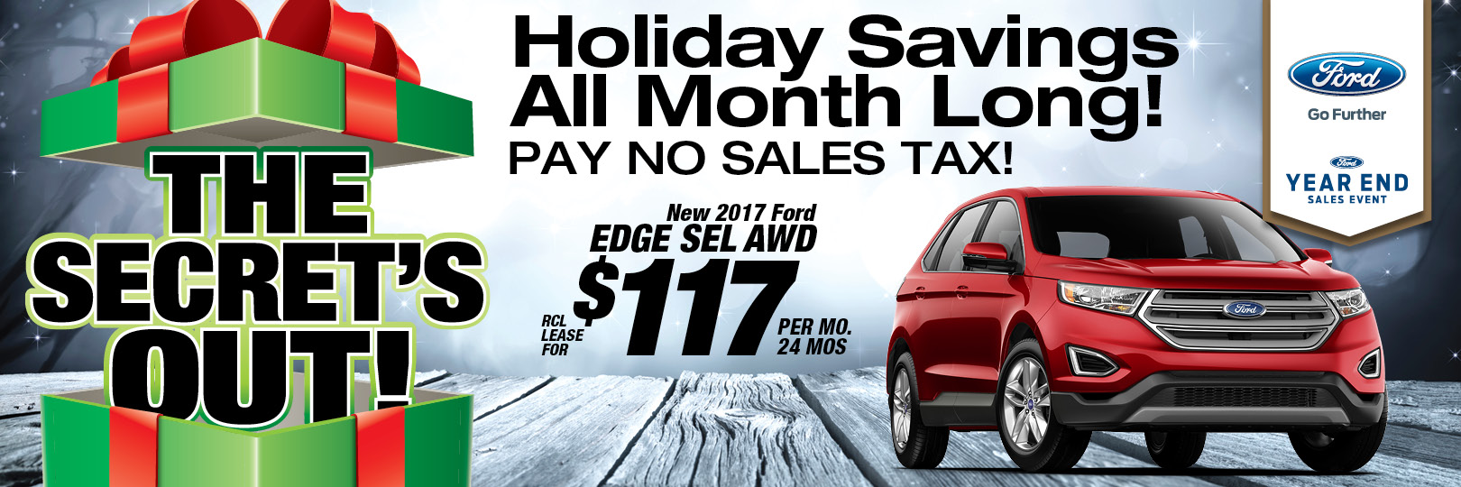 Ford Edge Deals