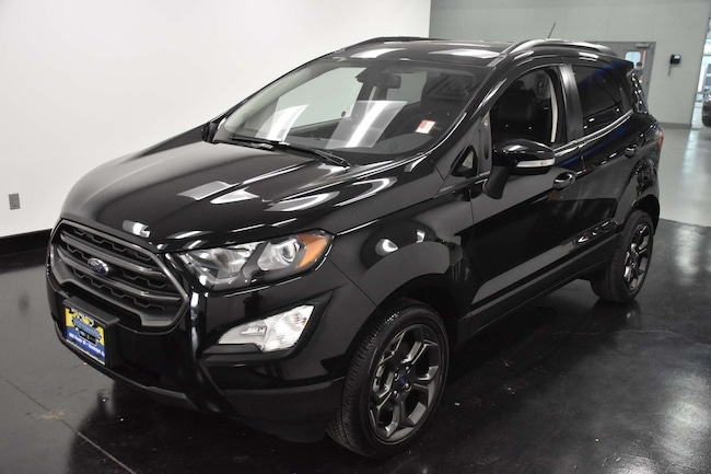 Certified Pre-Owned 2018 Ford EcoSport SES SUV For Sale Randolph, NJ