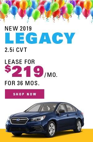 New 2019 Legacy 2.5i CVT