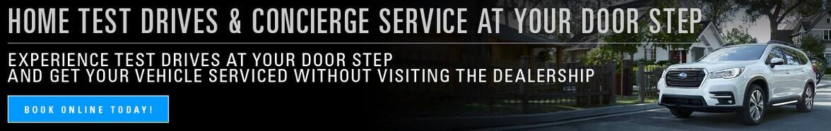 Home Test Drive & Concierge Service