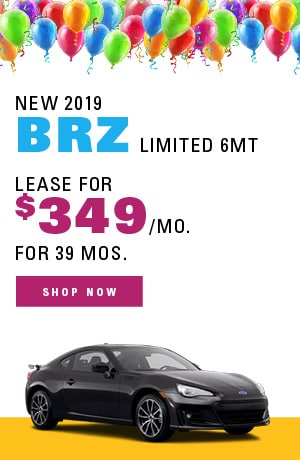 New 2019 BRZ Limited 6MT