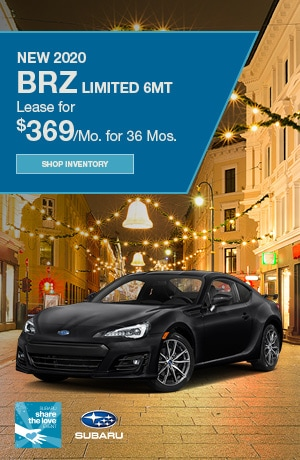 New 2020 BRZ Limited 6MT