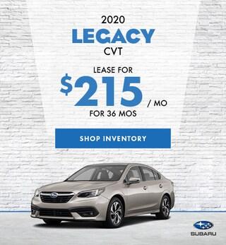 2020 Legacy CVT