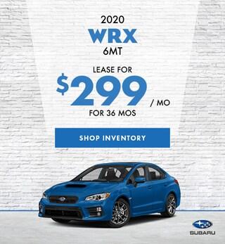 2020 WRX 6MT