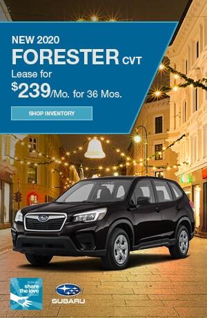 New 2020 Forester CVT