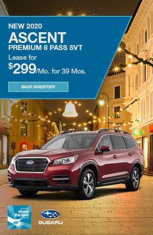 New 2020 Ascent Premium 8 Pass SVT