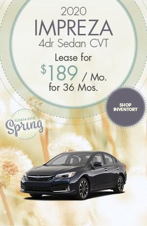 2020 Impreza 4dr Sedan CVT