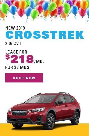 New 2019 Crosstrek 2.0i CVT