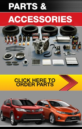 Order Genuine Toyota Parts & Accessories