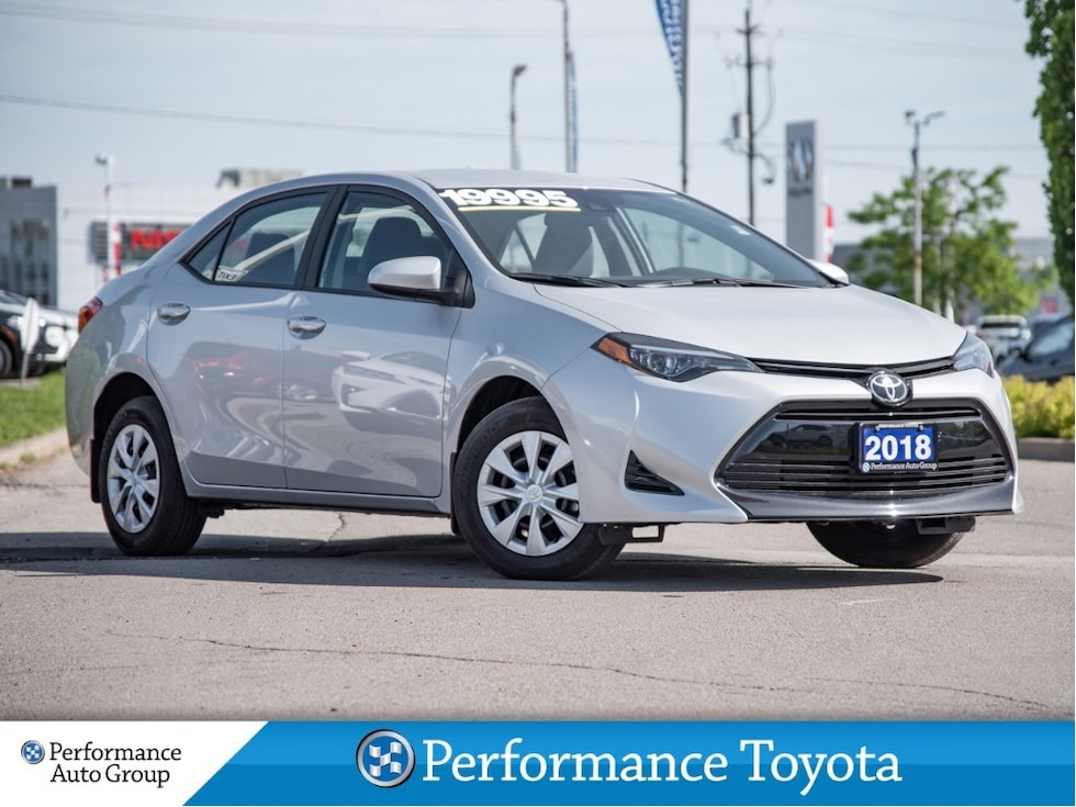 2018 Toyota Corolla CE. CAMERA. BLUETOOTH. LANE DEPT. LOW KM Sedan