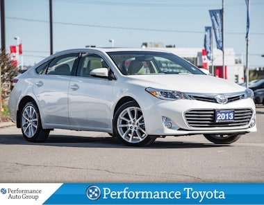 2013 Toyota Avalon XLE. LEATHER. HTD SEATS. NAVI. CAMERA. ROOF Sedan