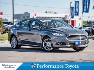 2014 Ford Fusion SE. AWD. NAVI. CAMERA. HTD SEATS. LEATHER. ROOF Sedan