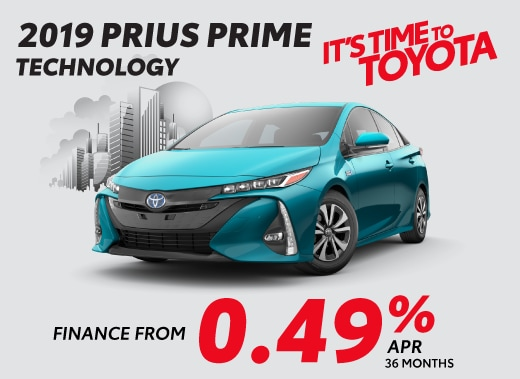 2019 Toyota Prius Prime Special Offer