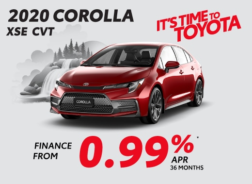 2020 Toyota Corolla Special Offer