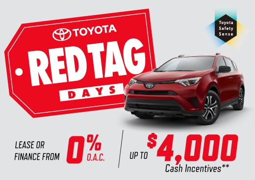 Red Tag Days on Now.