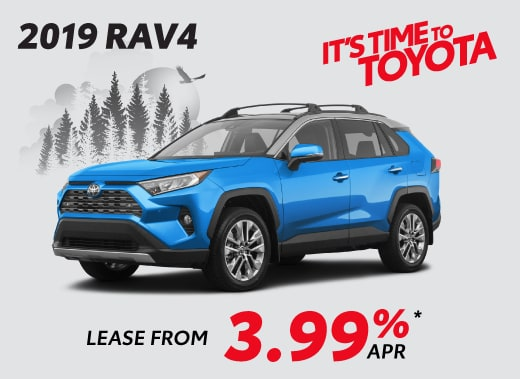 2019 Toyota RAV4 Special Offer