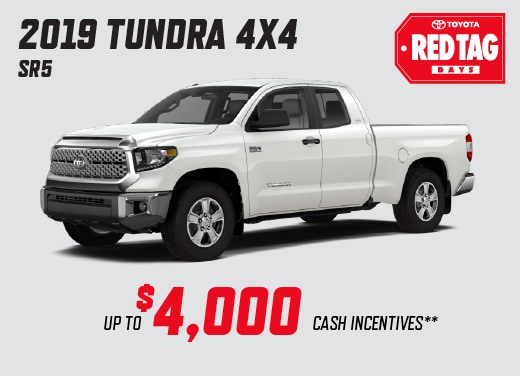 2019 Tundra 4x4 Special Offer