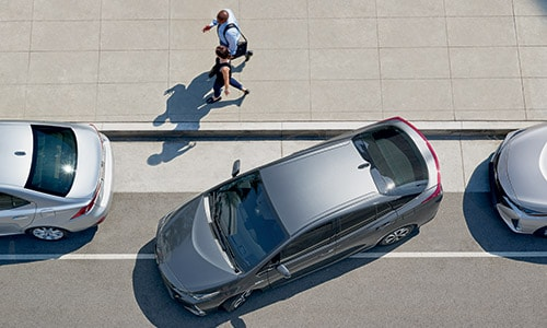 Take the guess work out of parking with Toyota Safety Sense.