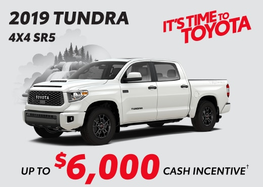 2019 Tundra Special Offer