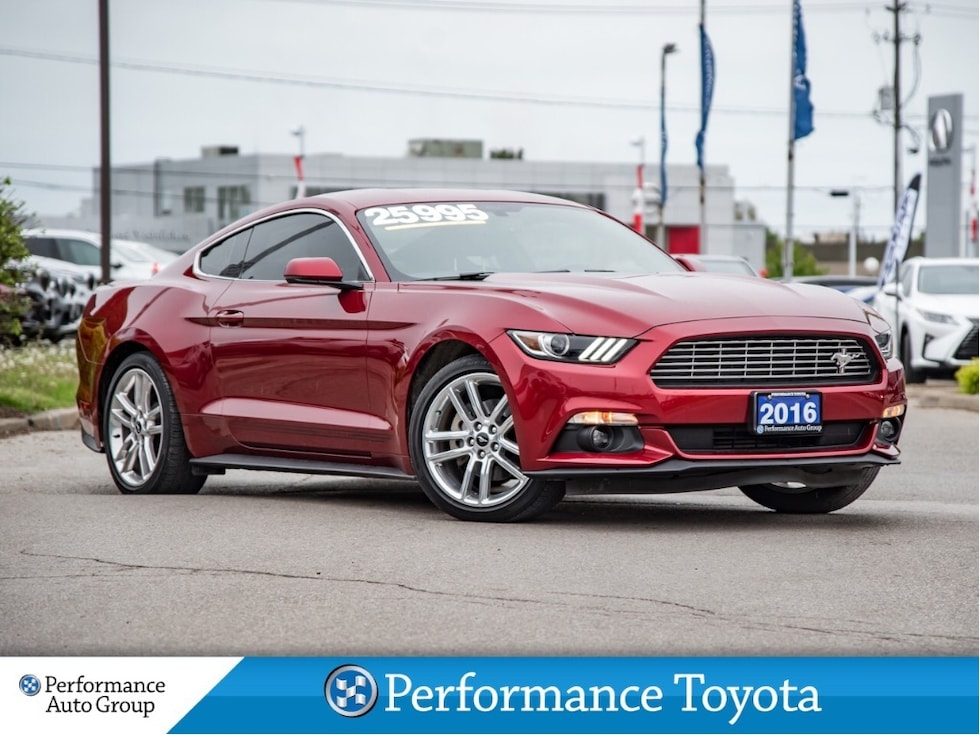 2016 Ford Mustang ECOBOOST PREMIUM. HTD/COOL SEATS. NAVI. CAMERA Coupe