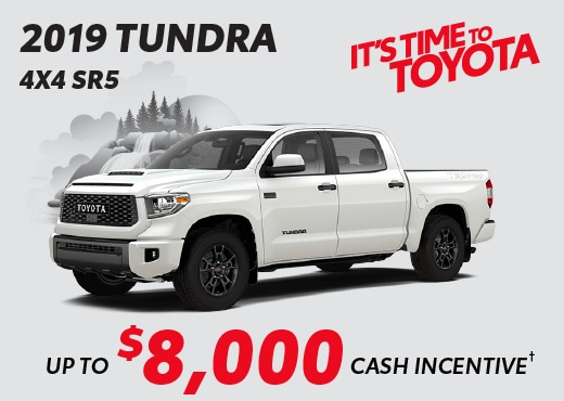 2019 Toyota Tundra Special Offers