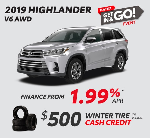 2019 Highlander Special Offer