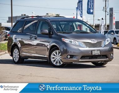 2014 Toyota Sienna XLE. 7 PASS. LEATHER. HTD SEATS. ROOF. BLUETOOTH Minivan