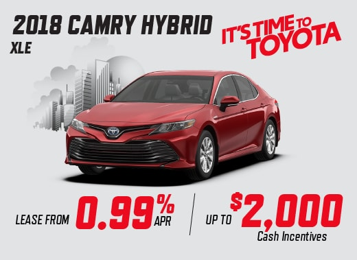 2018 Camry Hybrid Special Offer