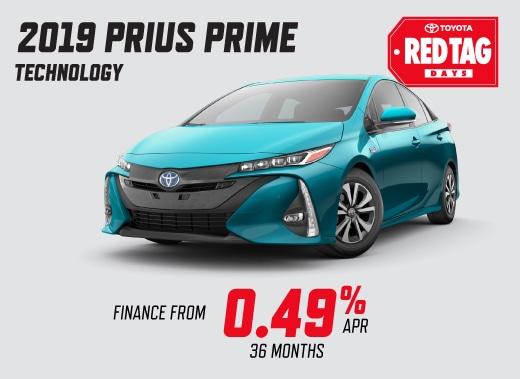 2019 Prius Prime Special Offer