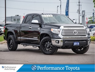 2015 Toyota Tundra LIMITED. 4X4. NAVI. CAMERA. HTD SEATS. BLIND SPOT Truck Double Cab