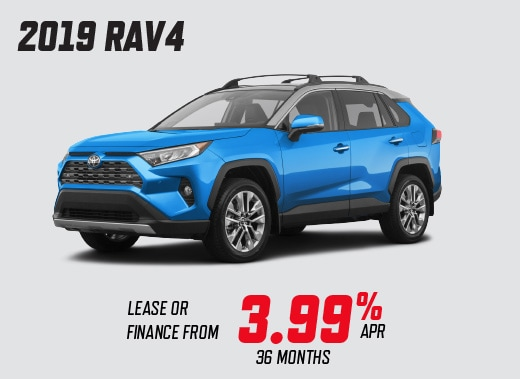 2019 Toyota RAV4 Trail Special Offer