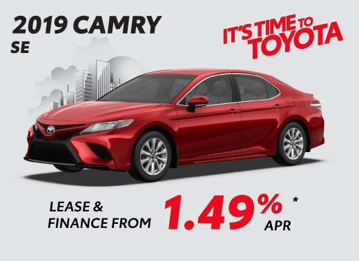 2019 Toyota Camry SE Special Offer