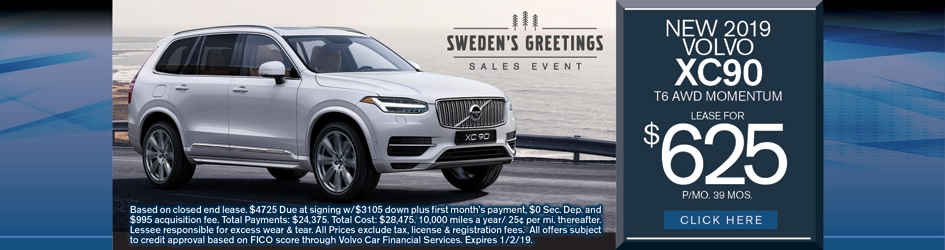 Car Specials Volvo Lease Specials In Sinking Spring Pa