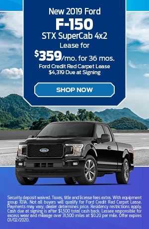 2019 Ford F-150 STX SuperCab 4x2
