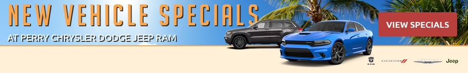 New Vehicle Specials - August 2020
