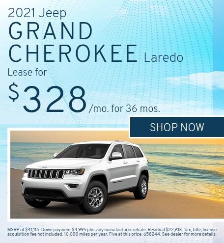 2021 Jeep Grand Cherokee Laredo - April