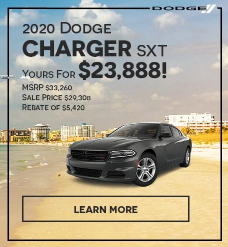 2020 Dodge Charger SXT-September 2020